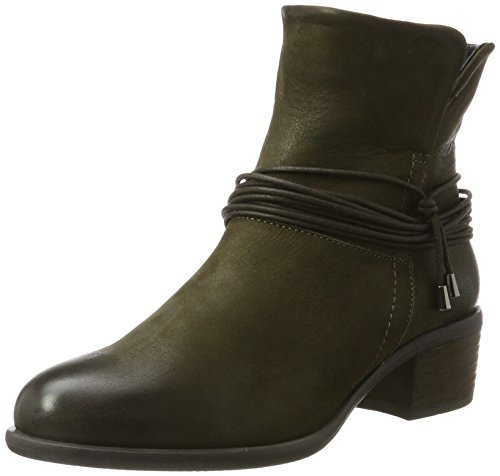 SPM Damen Olga Ankle Boot Chelsea, Grün (Kaki Green), 39 EU (Ankle Grüne Boots)