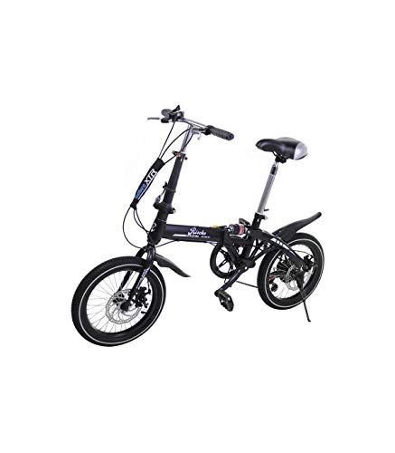 Riscko Bicicleta Plegable Super Bike Bep-32 Negro