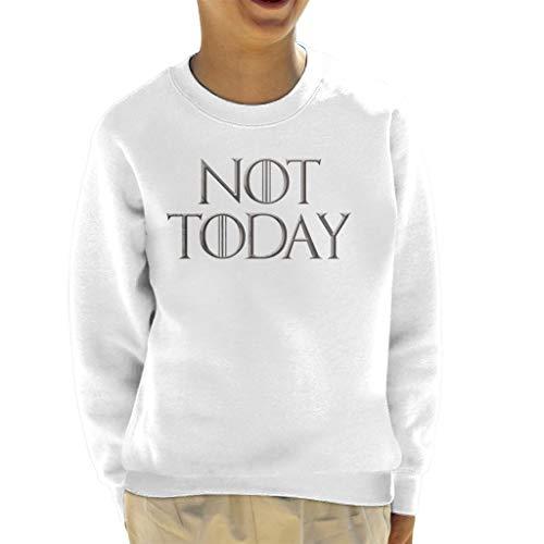 Game of Thrones Arya Stark Not Today Kid's Sweatshirt