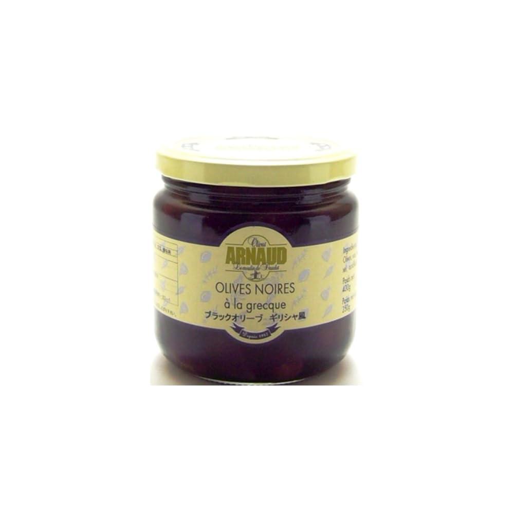 Schwarze Oliven Ohne Kern Mit Thymian In Sonnenblumenl Arnaud 220g