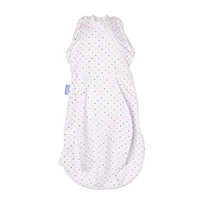The Gro Company – Saco de dormir cómodo y caliente para recién nacido/envoltura (de 2,3 a 5,4 kg, color gris marga/acogedor) multicolor multicolor Talla:Newborn 5-12 lbs