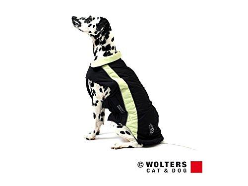 Wolters   Skijacke Dogz Wear wasserdichtem RV schwarz/lime   Rückenlänge 28 cm