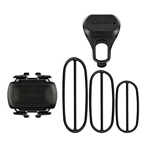 Garmin Geschwindigkeits- und Trittfrequenzsensor - Trainingsunterstützung Fahrrad, schnelle und einfache Montage (Zubehör Garmin)