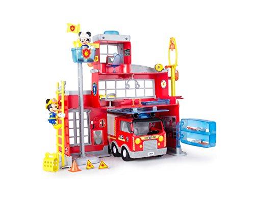 Preisvergleich Produktbild IMC Toys 181939MM1 - Micky Feuerwehrhaus