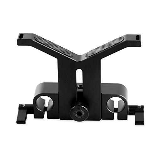 SMALLRIG Soporte para Lentes Largas con la Abrazadera de la Barra de 15mm (41.5mm Heigh-Ajustable) - 1087