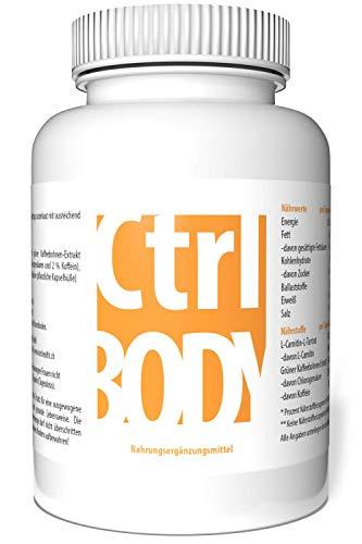 Ergänzung zum ICG Health FBURNER mit extra L-Carnitin - Ctrl Body