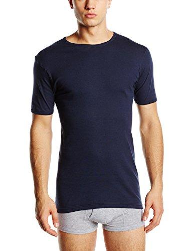 Eminence Herren Unterhemd, Einfarbig Gr. L, Blau - Blau (Marineblau) Preisvergleich