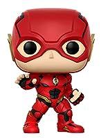 - Figurine Dc Justice League Movie - Flash Pop - Matière vinyl - Vendu sous window box - Taille 10cm