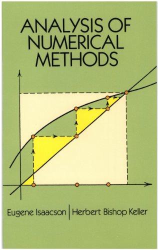 Analysis of Numerical Methods (Dover Books on Mathematics) (English Edition) por Eugene Isaacson