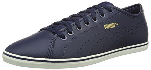 Puma Unisex-Erwachsene Elsu V2 Perf Sl Low-Top Blau (Peacoat)