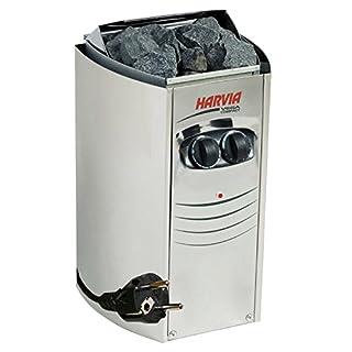 WelaSol Saunaofen Plug und Play Mini 3,5 kW ohne Steine, Steckerfertig mit Kabel, für Saunakabinen oder Infrarotkabinen bis 5m³