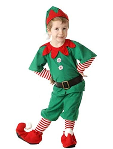 ARAUS Costume della Santa del Partito Pagliaccetti Cosplay Prima Infanzia Bimbo Vestito Babbo Natale 3 Pezzi 0-24 Mesi