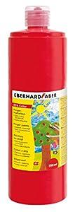 Eberhard Faber 578921 - Pintura de Dedos, Colour Rojo - Dedo, 750 ml