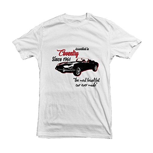 mufflebox Herren Freizeit-Hemd Weiß