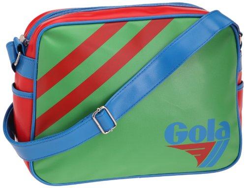 Gola Classics, Saunders, Unisex_Adulto Verde - Rosso - Blu