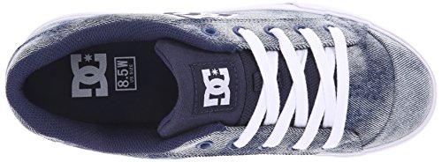 DC Shoes CHELSEA SE WOMENS SHOE D0302252, Sneaker, Donna Denim