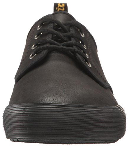 Dr.Martens Mens Pressler Leather Shoes Noir
