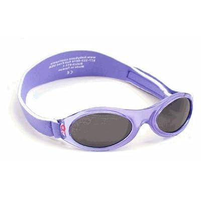 Babybanz Kidz Banz Adventure Purple Flower, UV eye protection for 2-5 year olds