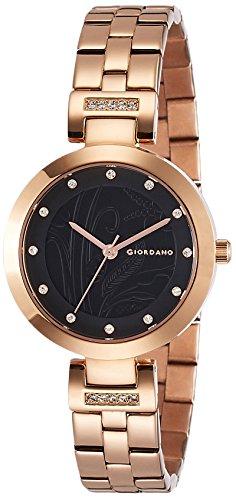 Giordano Analog Black Dial Women's Watch-2784-33 image