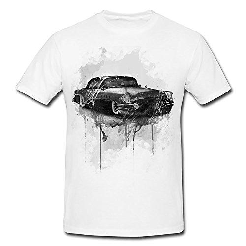 buick-oldtime-t-shirt-herren-men-mit-stylischen-motiv-von-paul-sinus