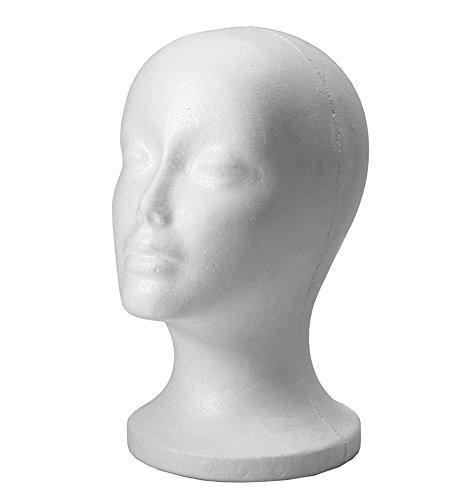 bluelansr-white-female-foam-mannequin-manikin-head-model-wig-hair-glasses-hat-display