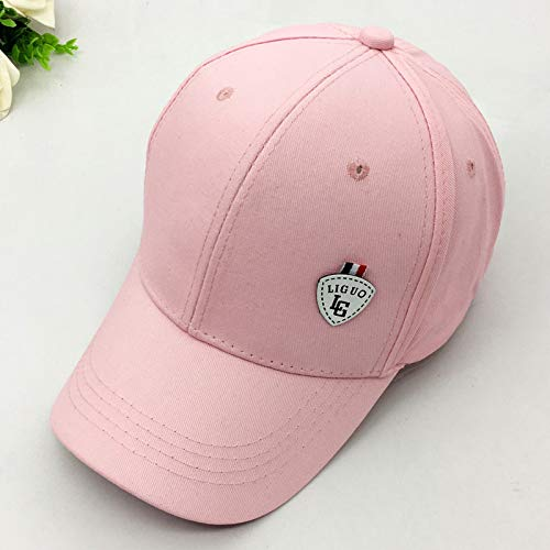 zlhcich Hut weiblicher Frühlingssommeraufkleber-Baseballmütze beiläufiger Wilder Buchstabe-Stickerei-Schwarzkappenmann