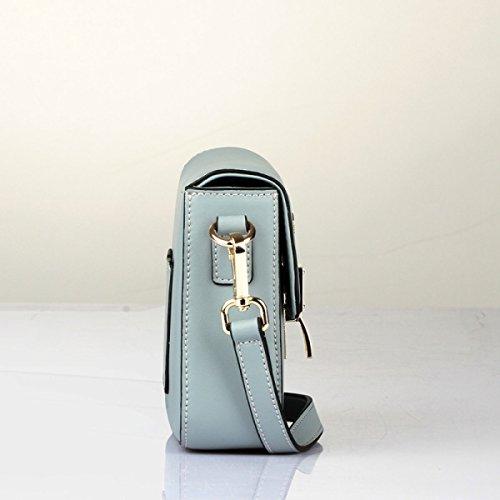 Messenger Bag Zaino Nuovo Moda Borse Semplice Selvatico Spalla Mini Borsa Borsa A Tracolla Blue