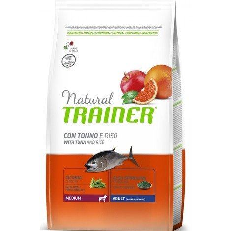 Trainer Natural Adult Medium Tonno 12kg