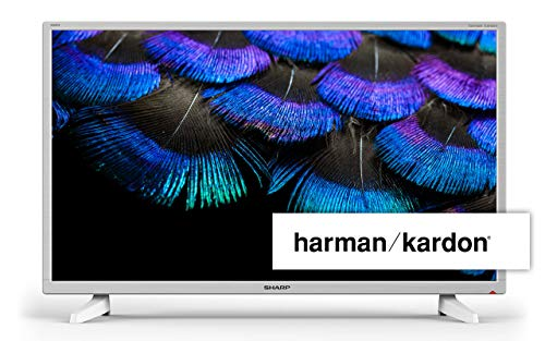 Sharp Aquos LC-32HI3222EW TV 81,3 cm (32') HD Bianco