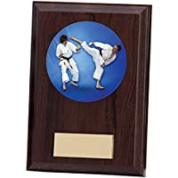 Emblems-Gifts - Placa de Karate (Personalizable, 150 mm), diseño de Fantasma de Artes Marciales