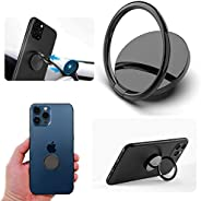 Cell Phone Ring Holder - 3M Adhesive Phone Ring Holder Finger Kickstand - 360° Rotating Mobile Hand Holder - M