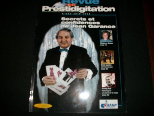 REVUE DE LA PRESTIDIGITATION [No 503] du 01/06/1998 - SECRETS ET CONFIDENCES DEJEAN GARANCE - MAGIE EN SUISSE - VISITE GUIDEE - LE FUTUROSCOPE - FREDDY FAH. par Collectif