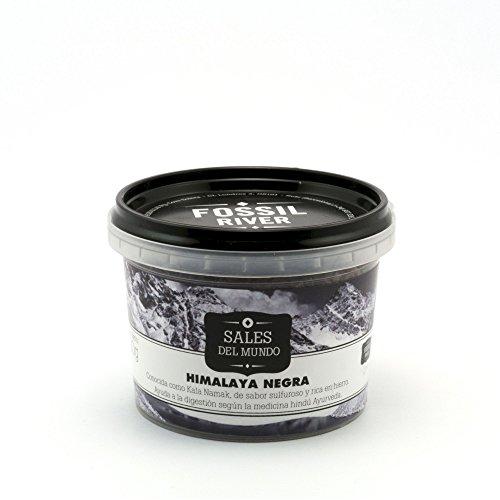 Sal del Himalaya Negra Kala Namak - Caja de 6 x 120 g.