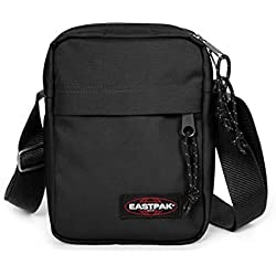 Eastpak - The One - Sac Bandoulière - Mixte Adulte -Noir (Black) - 21 x 16 x 5.5
