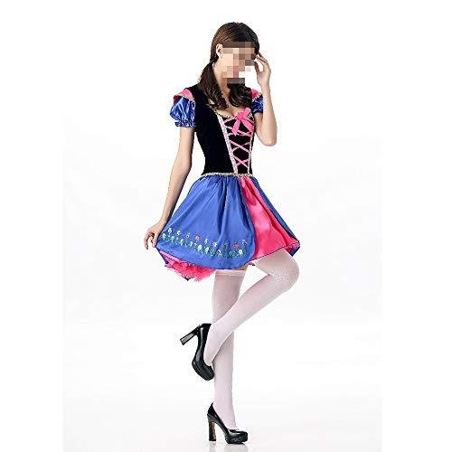 kMOoz Halloween Kostüm,Outfit Für Halloween Fasching Karneval Halloween Cosplay Horror Kostüm,Halloween Kostüme Volkstanz Kostüme Bier Festival Party - Kostüm Für Volkstanz