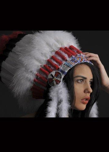 Deluxe indische Headress (Deluxe Indische Kostüm)