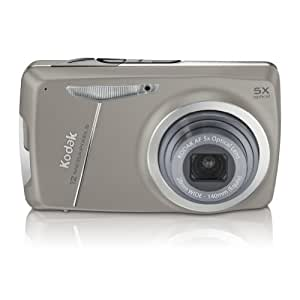 Kodak EasyShare M550 Appareil photo numérique 12 Mpix Gris + Carte Mémoire 4 Go + Housse