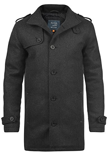 BLEND Warren Cappotto da Uomo taglia3XL;coloreCharcoal