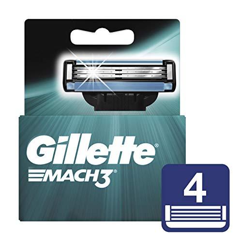 Mach3 Gillette Afeitadora - 4 Recambios