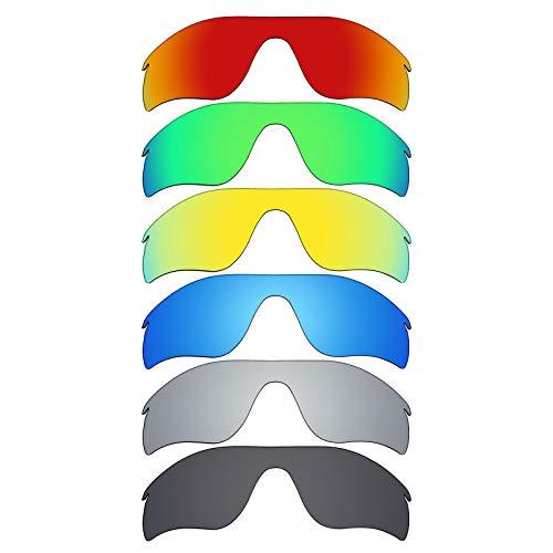 MRY 6Paar Polarisierte Ersatz Gläser für Oakley Radarlock Path Sonnenbrille