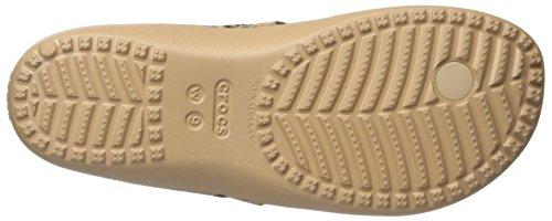 Ciabatte Crocs Ladies Kadeeiilprdflp Oro (oro)
