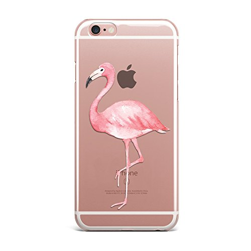Blitz® PIZZA Schutz Hülle Transparent TPU Cartoon Comic iPhone  All Avocado M4 iPhone 6 6s stolzer Flamingo M10