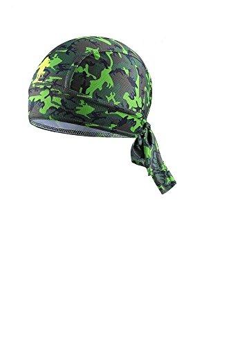 ShopINess Bandana Ciclismo Camuffamento (Verde)