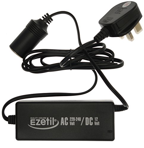 Preisvergleich Produktbild EZetil Netzteil AC/DC 230V - 12V, 5.0A, Schwarz (UK Plug)