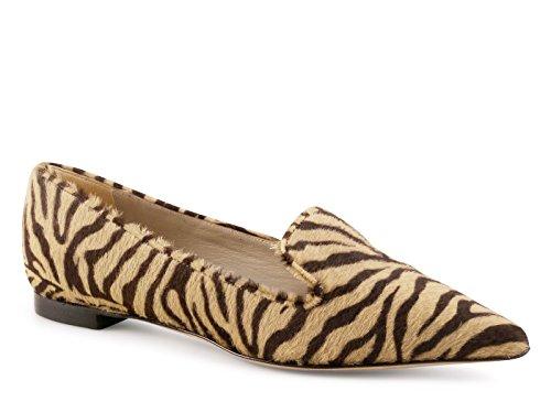 Scarpe Le Capresi loafers in cavallino zebrato - Codice modello: MARY P - Taglia: 37 IT