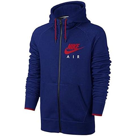 Nike AW77–Felpa con cappuccio in pile full