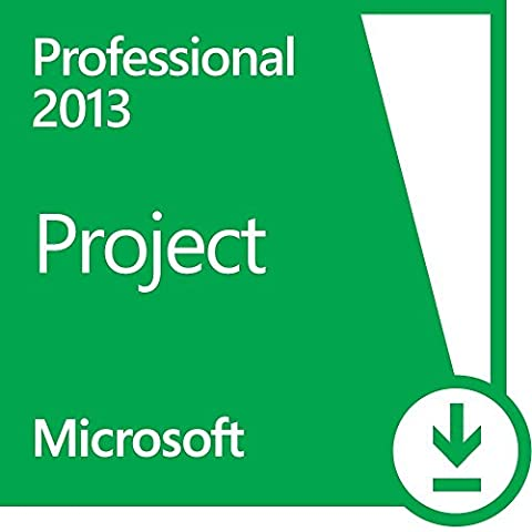 Microsoft Project 2013 Professional 1 PC Vollversion Lizenz (Project Microsoft Office)