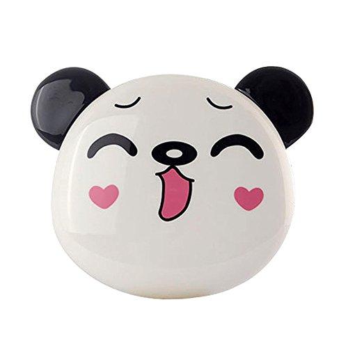 Hkfv superb simpatico panda modello 12000mah portatile usb carica batteria esterna per il telefono convenienza