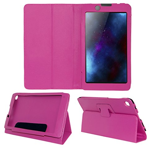 Acm Executive Case For Lenovo Tab 2 A7-30 Tablet Front & Back Flip Cover Stand Pink