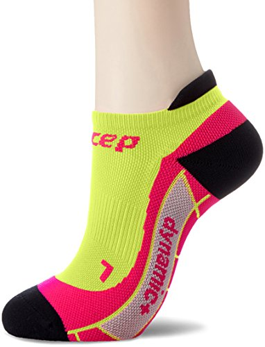 CEP Damen No Show Women Socken, Lime/Pink, III
